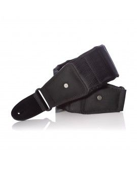 Correa para guitarra o bajo MONO CASES THE BETTY STRAP SHORT (negro)