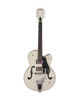 "Guitarra Eléctrica GRETSCH G5410T ELECTROMATIC® ""RAT ROD"" HOLLOW BODY MATTE VINTAGE WHITE"